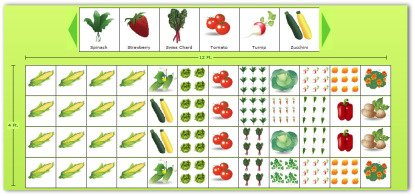 Vegetable Garden Layout Ideas a simple small space garden layout with everything youd need to pluck a perfect summer salad small space gardens httpwwwpinterestcomwinein 4x12 Sample Vegetable Garden Plan