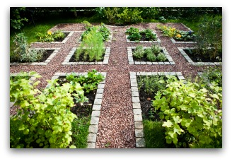 Beautiful Home Vegetable Garden Plan