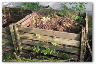 build compost bin