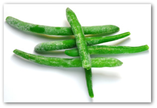 freezing green beans
