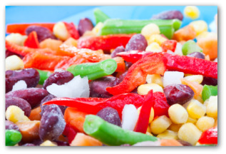 fresh corn relish vegetables