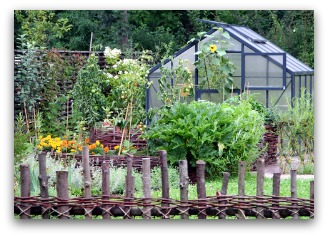 Planning A Vegetable Garden Layout That Includes A Greenhouse