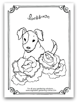 coloring pages free horticulture - photo#35