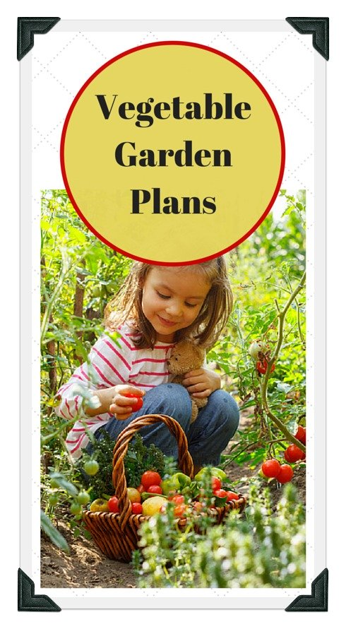 Use Our Free Vegetable Garden Plans!