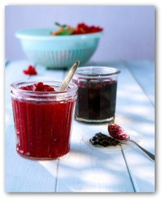 raspberry and blackberry jam