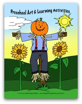vegetable garden art and learning activities preschool kindergarten