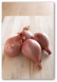 cooking with shallots