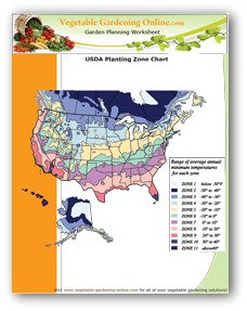 USDA Zone Chart Download