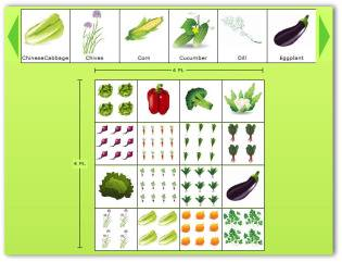 Gentil Online Vegetable Garden Planner
